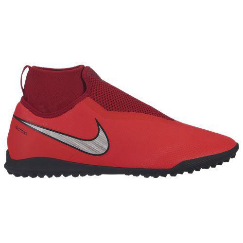 (取寄)ナイキ メンズ ファントム ビジョンX プロ DF tr Nike Men's Phantom VisionX Pro DF TF Bright Crimson Metallic Silver University Red