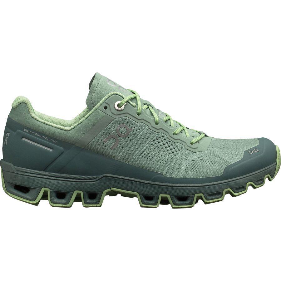 (取寄)オン フットウェアー レディース クラウドベンチャー トレイル ランニングシューズ On Footwear Women Cloudventure Trail Running Shoe Moss/Olive