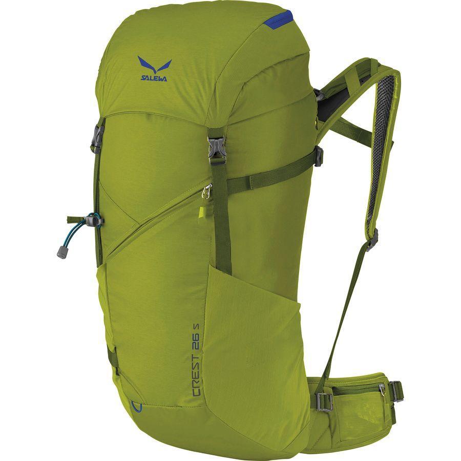 (取寄)サレワ ユニセックス クレスト 26L バックパック Salewa Men's Crest 26L Backpack Leaf Green