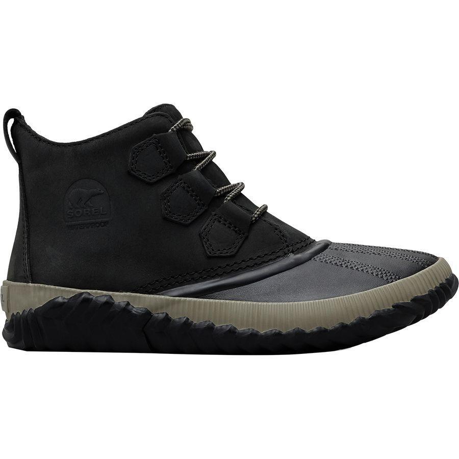 (取寄)ソレル レディース アウト Nアバウト プラス ブーツ Sorel Women Out N About Plus Boot Black/Grey