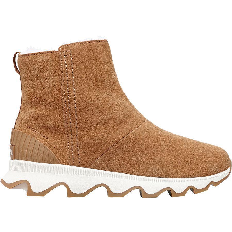 (取寄)ソレル レディース キネティック ショート ブーツ Sorel Women Kinetic Short Boot Camel Brown/Natural