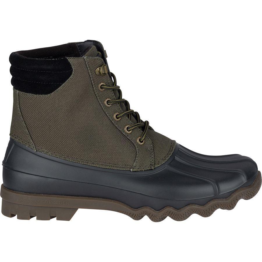(取寄)スペリートップサイダー メンズ アベニュー ダッグ コーデュラ ブーツ Sperry Top-Sider Men's Avenue Duck Cordura Boot Olive