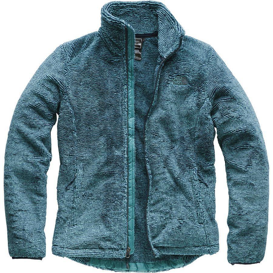 (取寄)ノースフェイス レディース Osito 2 フリース ジャケット The North Face Women Osito 2 Fleece Jacket Urban Navy/Storm Blue Stripe