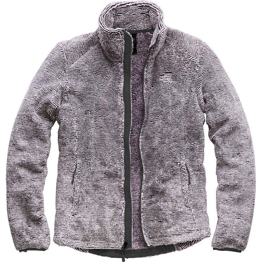 (取寄)ノースフェイス レディース Osito 2 フリース ジャケット The North Face Women Osito 2 Fleece Jacket Weathered Black/Tin Grey Stripe