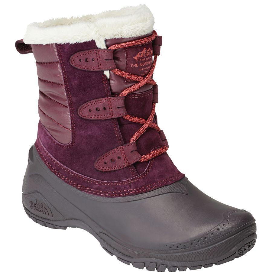 (取寄)ノースフェイス レディース シェリスタ 2 ショーティ ブーツ The North Face Women Shellista II Shorty Boot Fig/Weathered Black