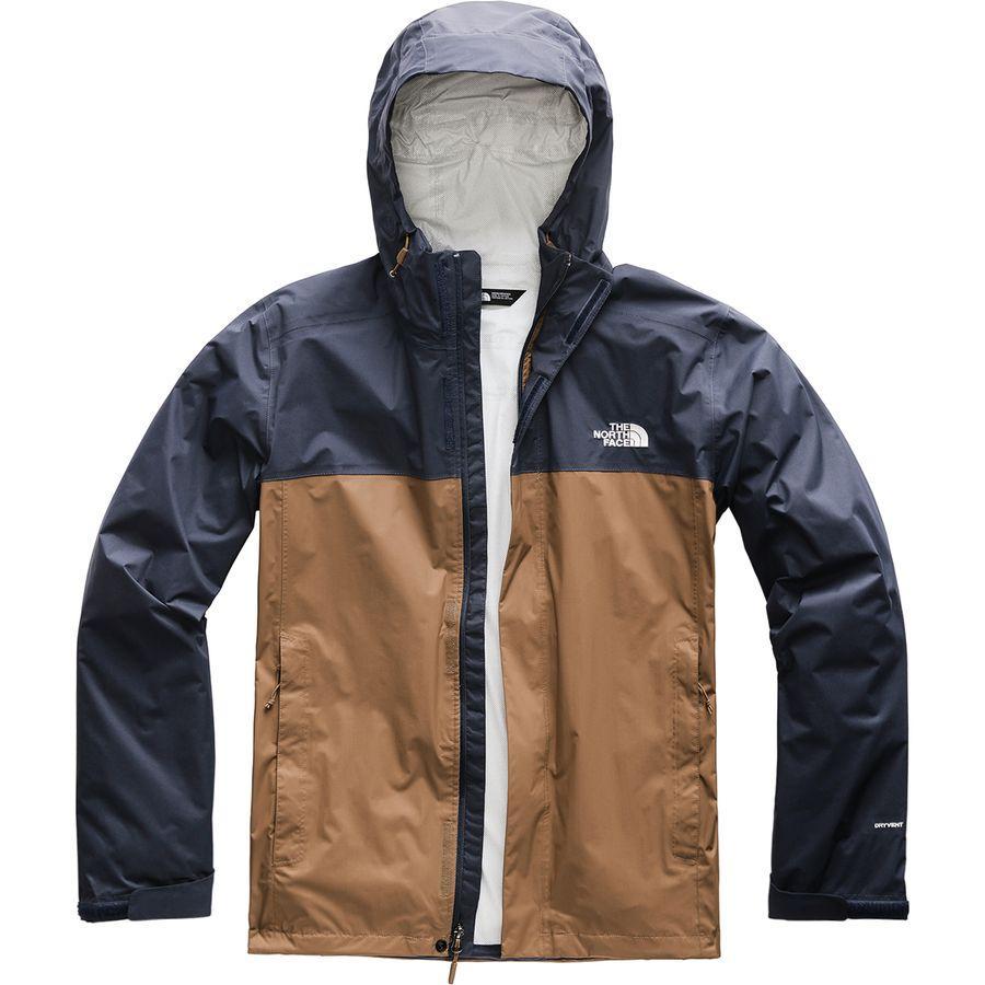 (取寄)ノースフェイス メンズ ベンチャー 2 フーデッド ジャケット The North Face Men's Venture 2 Hooded Jacket Cargo Khaki/Urban Navy