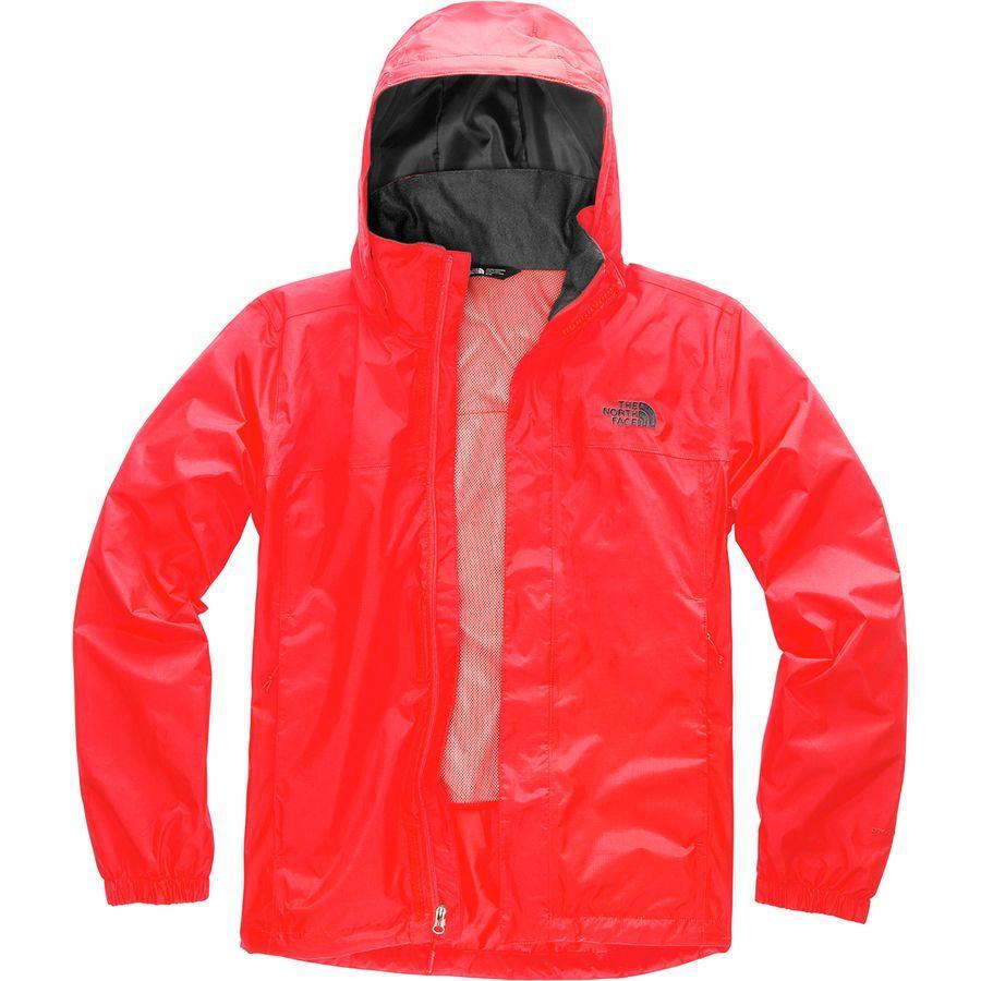 (取寄)ノースフェイス メンズ リゾルブ 2 フーデッド ジャケット The North Face Men's Resolve 2 Hooded Jacket Fiery Red/Asphalt Grey