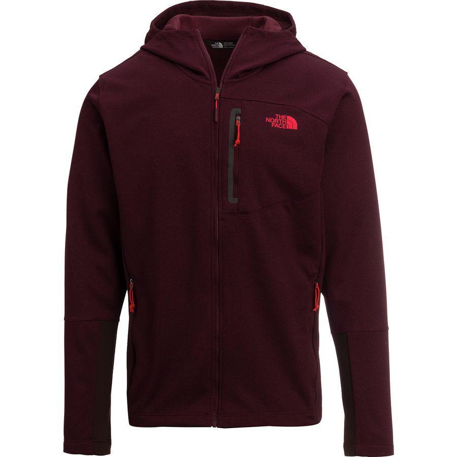 ノースフェイス メンズ キャニオンランズ フーデッド フリース ジャケット The North Face Men's Canyonlands Hooded Fleece Jacket Fig Heather