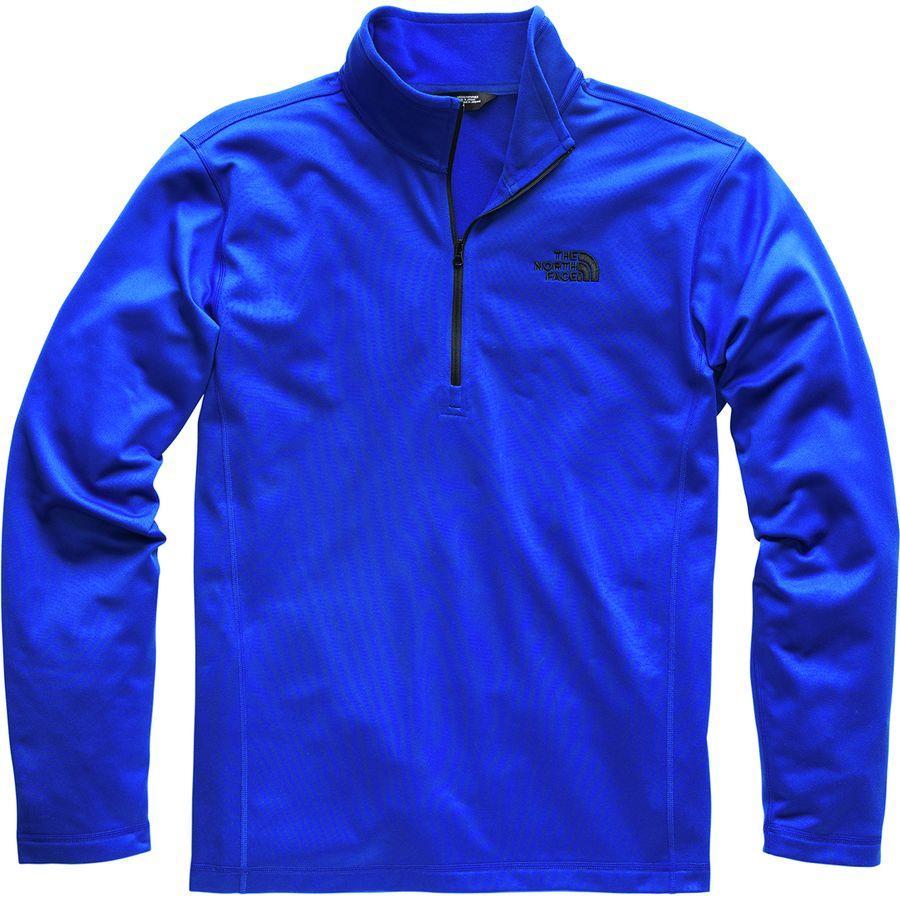 (取寄)ノースフェイス メンズ テック グレイシャー フリース プルオーバー The North Face Men's Tech Glacier Fleece Pullover Aztec Blue