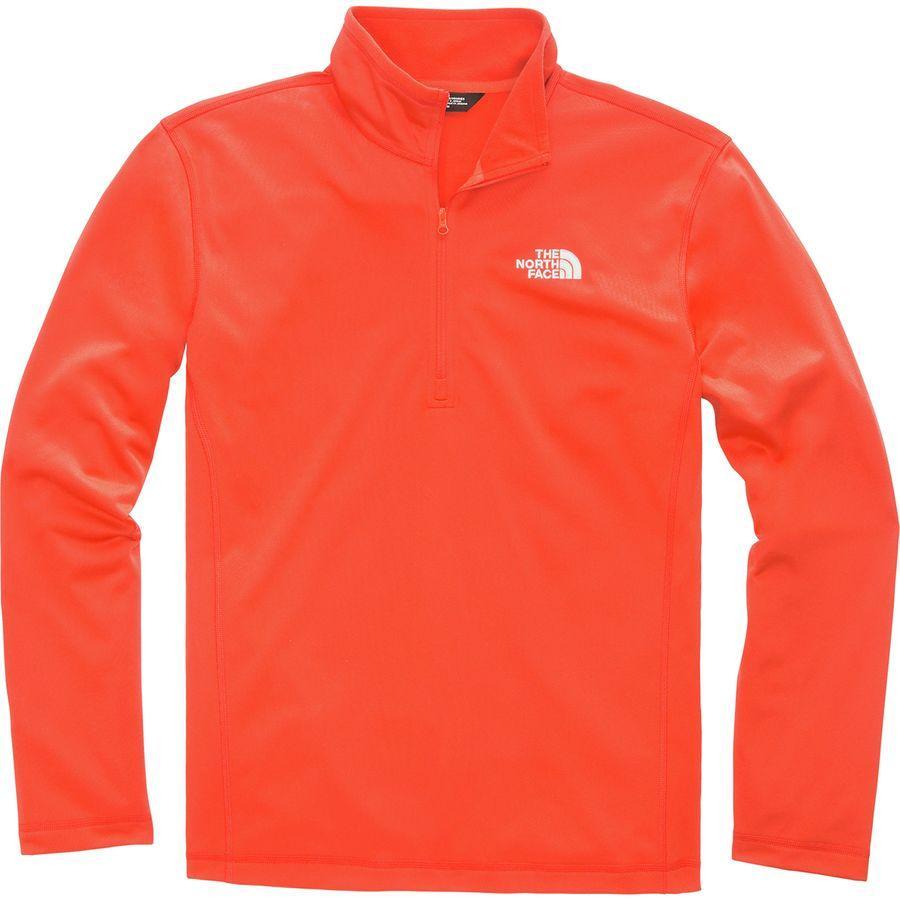 (取寄)ノースフェイス メンズ テック グレイシャー フリース プルオーバー The North Face Men's Tech Glacier Fleece Pullover Zion Orange