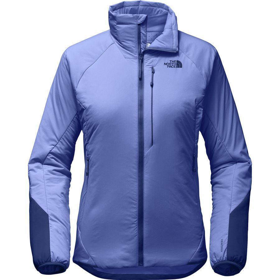 (取寄)ノースフェイス レディース ヴェントリックス インサレーテッド ジャケット The North Face Women Ventrix Insulated Jacket Stellar Blue/Sodalite Blue