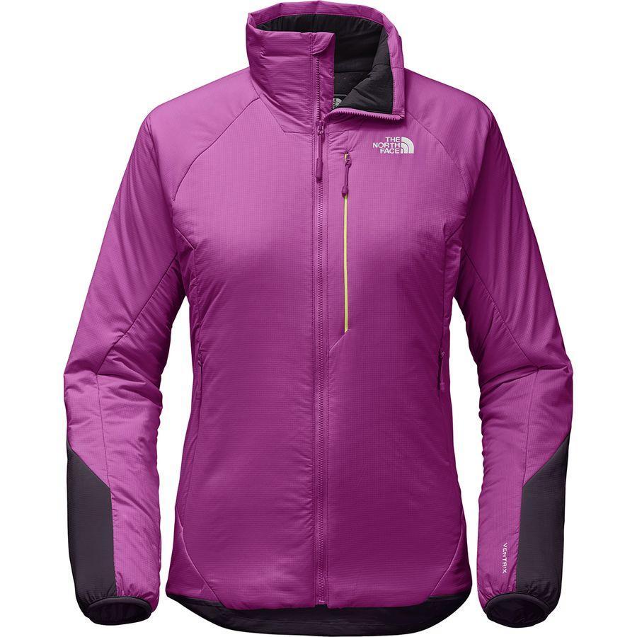 (取寄)ノースフェイス レディース ヴェントリックス インサレーテッド ジャケット The North Face Women Ventrix Insulated Jacket Wild Aster Purple/Galaxy Purple