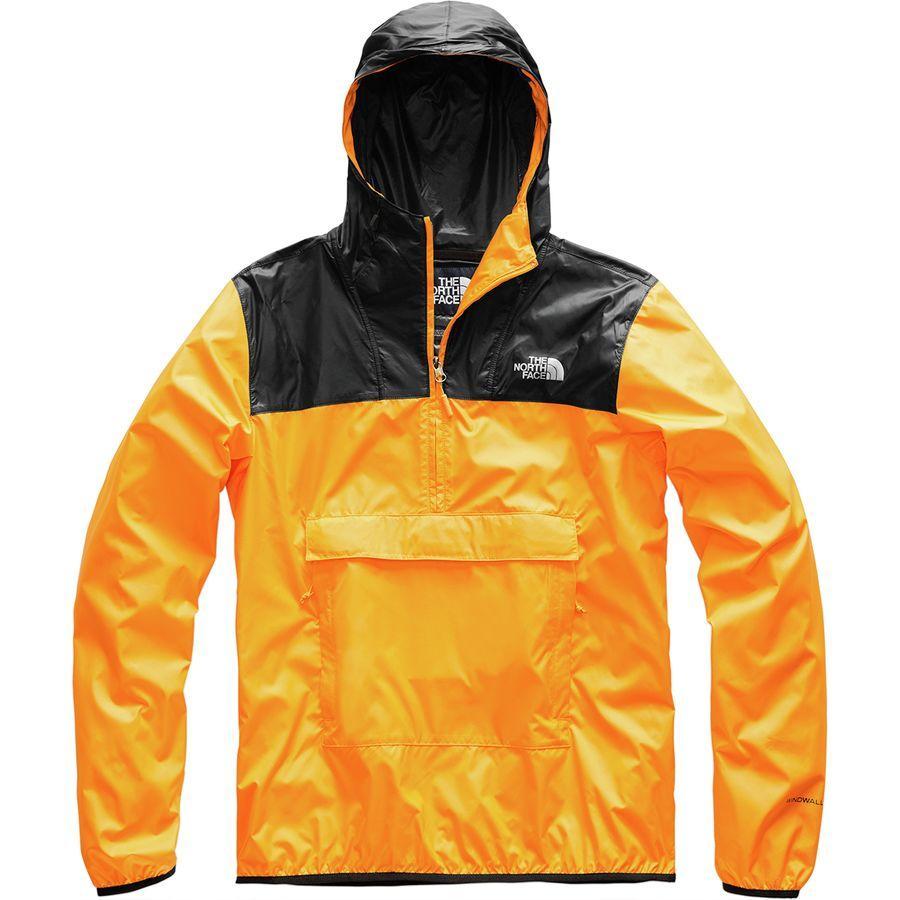 (取寄)ノースフェイス メンズ Fanorak ウィンドブレーカー The North Face Men's Fanorak Windbreaker Zinnia Orange/Tnf Black