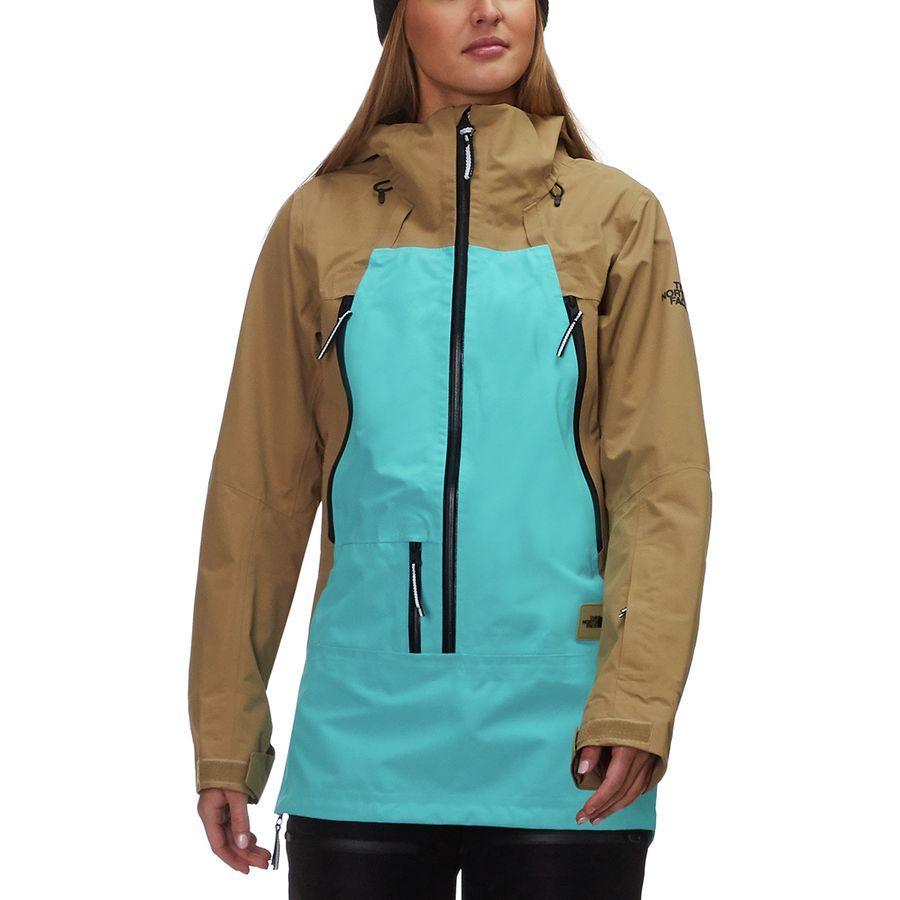 【クーポンで最大2000円OFF】(取寄)ノースフェイス レディース セプター アノラック ジャケット The North Face Women Ceptor Anorak Jacket Kelp Tan/Transantarctic Blue【outdoor_d19】