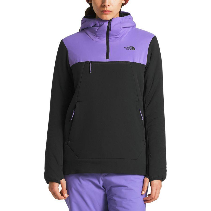 (取寄)ノースフェイス レディース ヴィニー ヴェントリックス プルオーバー ジャケット The North Face Women Vinny Ventrix Pullover Jacket Dahlia Purple/Tnf Black