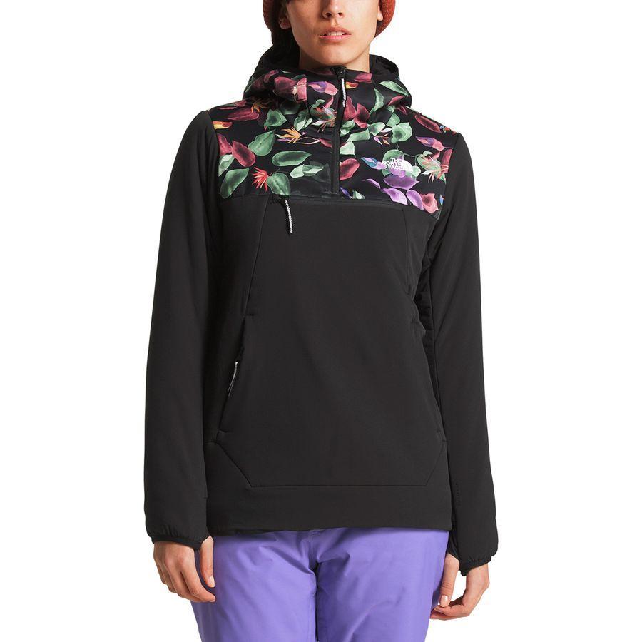 (取寄)ノースフェイス レディース ヴィニー ヴェントリックス プルオーバー ジャケット The North Face Women Vinny Ventrix Pullover Jacket Tnf Black Toucan Print/Tnf Black