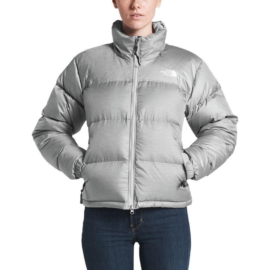 (取寄)ノースフェイス レディース 1996レトロ ヌプシ ジャケット The North Face Women 1996 Retro Nuptse Jacket Tnf Medium Grey Heather