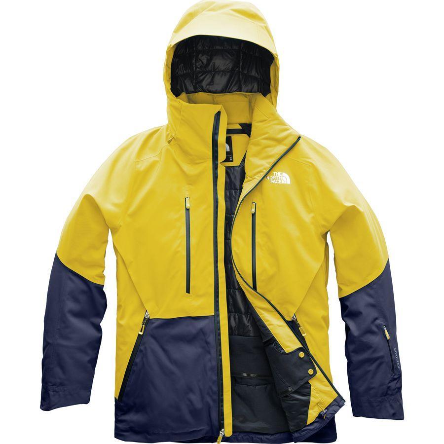 (取寄)ノースフェイス メンズ アノニム フーデッド ジャケット The North Face Men's Anonym Hooded Jacket Leopard Yellow/Urban Navy