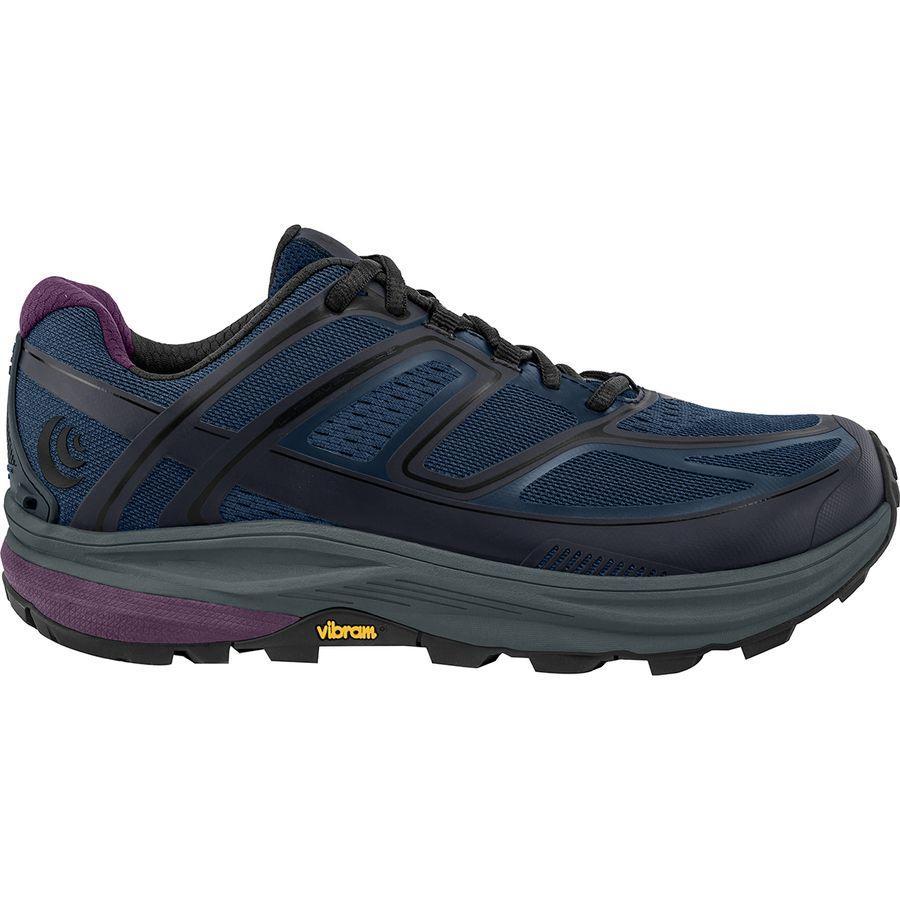 【マラソン ポイント10倍】(取寄)トポアスレチック レディース ウルトラベンチャー トレイル ランニングシューズ Topo Athletic Women Ultraventure Trail Running Shoe Navy/Plum