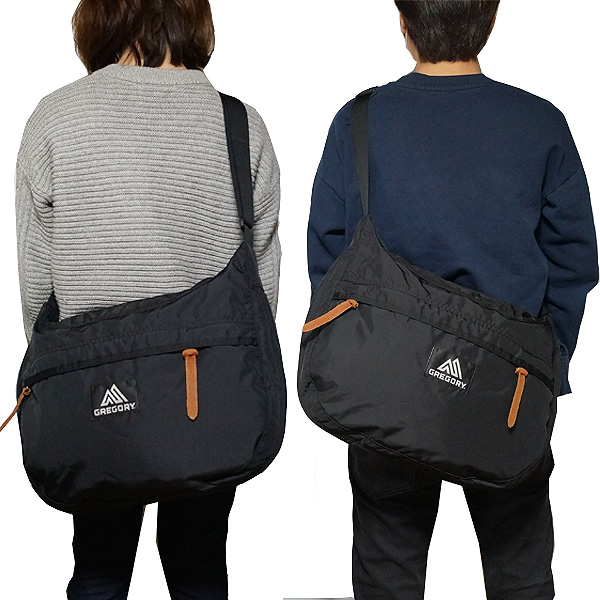 グレゴリー ショルダーバッグ マイティ サッチェル 14L ブラック Gregory Shoulder Bag MIGHTY SATCHEL Black 119655 1041