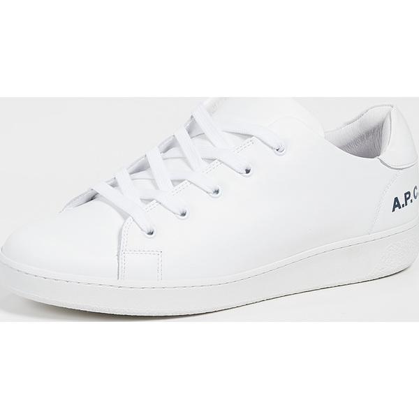 (取寄)アーペーセー ミニマル スニーカー A.P.C. Minimal Sneakers White