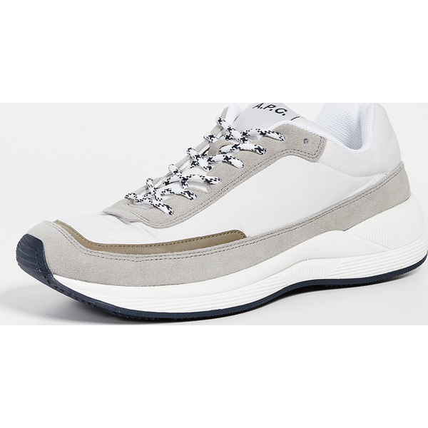(取寄)アーペーセー ランニング スニーカー A.P.C. Running Sneakers Blanc