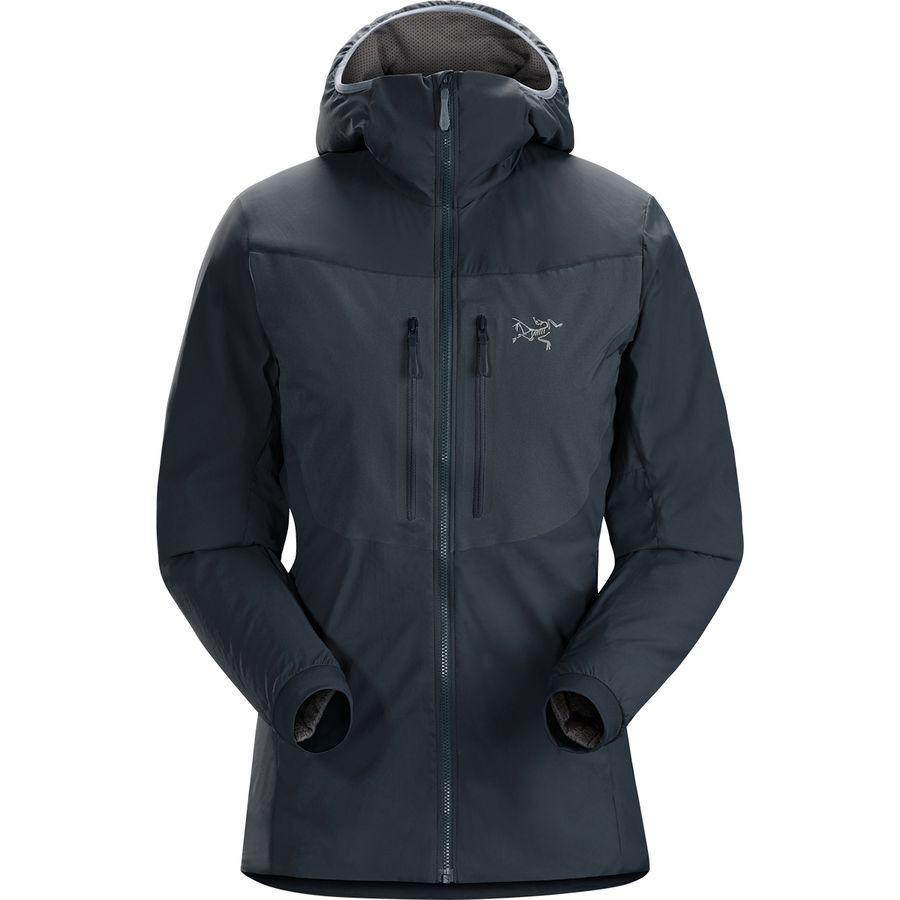 (取寄)アークテリクス レディース プロトン FL フーデッド ジャケット Arc'teryx Women Proton FL Hooded Jacket Black Sapphire