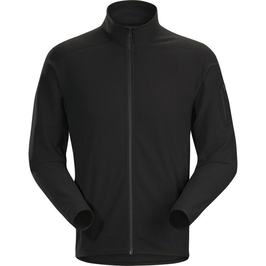【クーポンで最大2000円OFF】(取寄)アークテリクス メンズ デルタ LT フリース ジャケット Arc'teryx Men's Delta LT Fleece Jacket Black