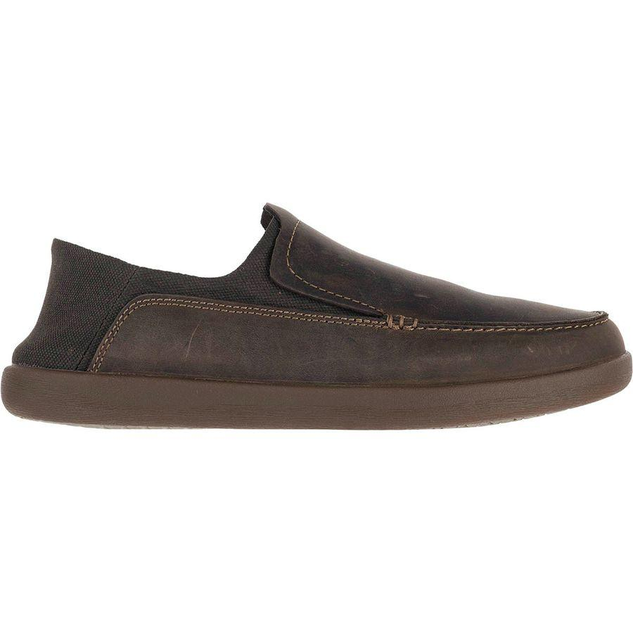 (取寄)クラークス メンズ Unリスボン レーン シューズ Clarks Men's Un Lisbon Lane Shoe Brown Oily Leather/Textile