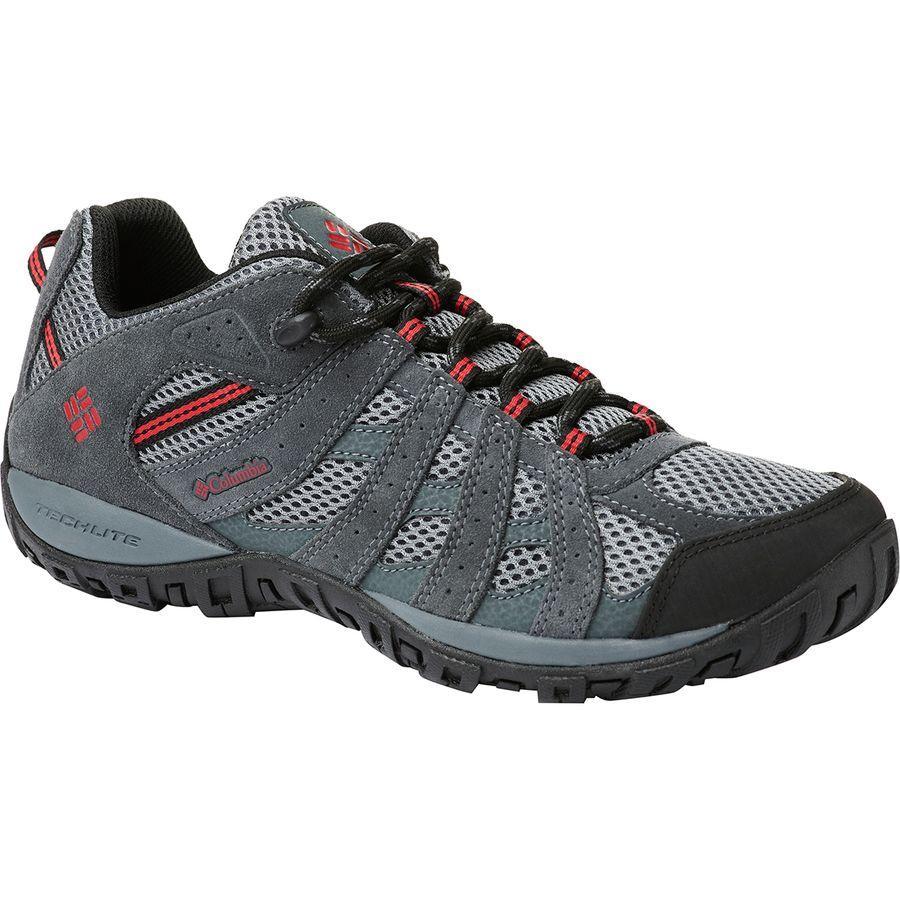 (取寄)コロンビア メンズ レドモンド ハイキングシューズ Columbia Men's Redmond Hiking Shoe Ti Grey Steel/Mountain Red