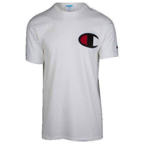 (取寄)チャンピオン メンズ ビッグ C Tシャツ Champion Men's Big C T-Shirt White