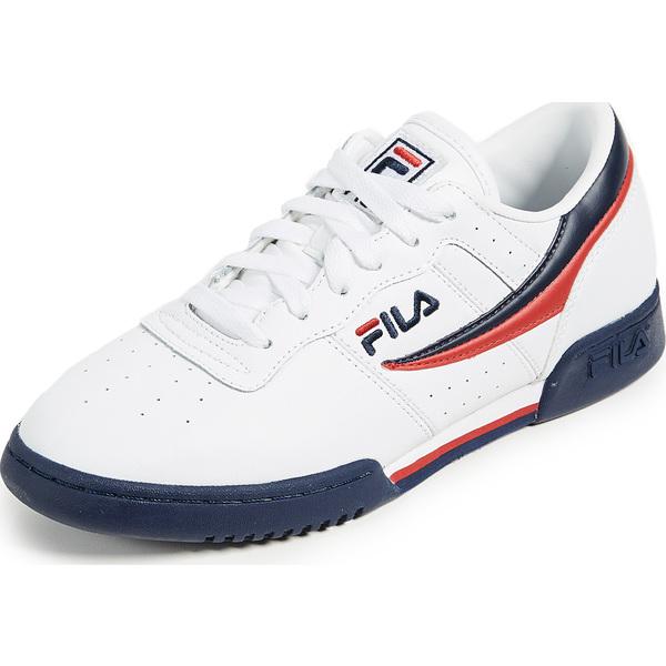 (取寄)フィラ オリジナル フィットネス スニーカー FILA Original Fitness Sneakers White Navy
