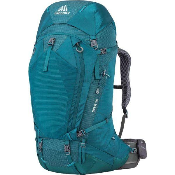 (取寄)グレゴリー レディース ディーバ 70L バックパック Gregory Women Deva 70L Backpack Antigua Green