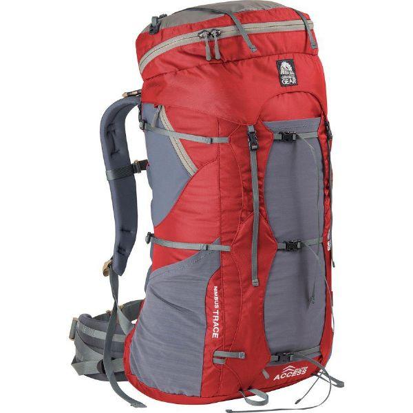 (取寄)グラナイトギア レディース ニンバス トレース アクセス キ 85L バックパック Granite Gear Women Nimbus Trace Access Ki 85L Backpack Red/Moonmist