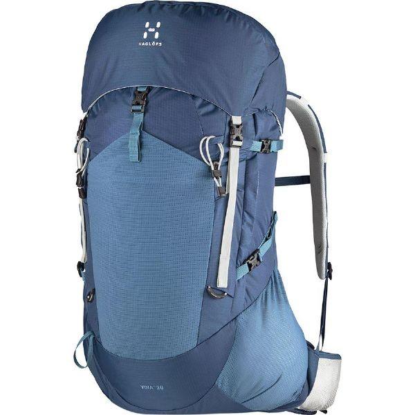 (取寄)ホグロフス ユニセックス ヴィーナ 20L バックパック Haglofs Men's Vina 20L Backpack Blue Ink/Steel Sky