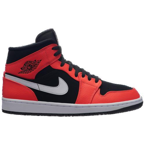 (取寄)ジョーダン メンズ AJ 1 ミッド Jordan Men's AJ 1 Mid Black Infrared 23 White