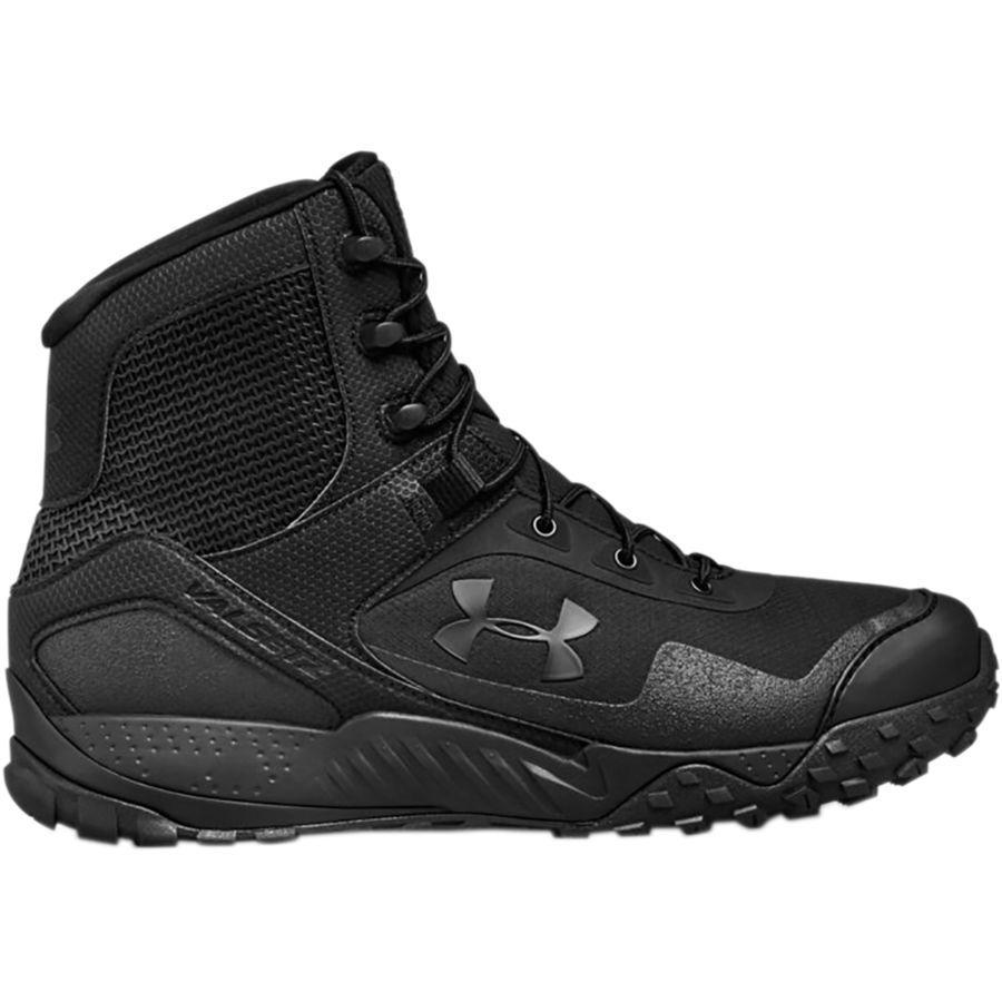 (取寄)アンダーアーマー メンズ バルセッツ RTS 1.5 ハイキング ブーツ Under Armour Men's Valsetz RTS 1.5 Hiking Boot Black/Black/Black【outdoor_d19】