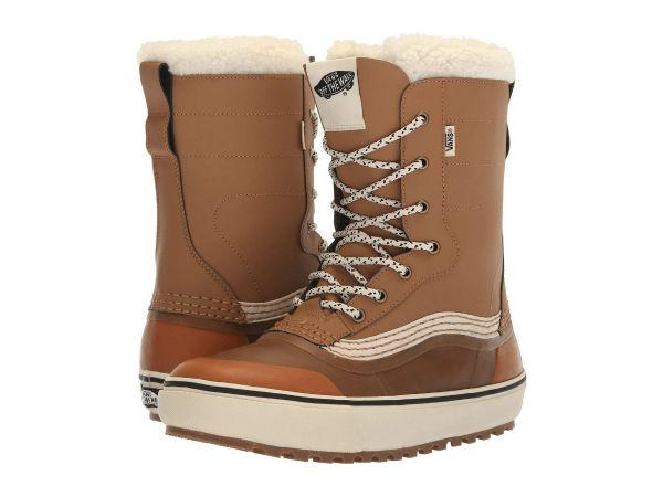 (取寄)Vans(バンズ) スニーカー スタンダード スノー '18 メンズ Vans Men's Standard Snow '18 Brown/White