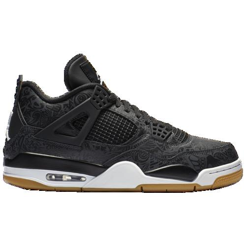 (取寄)ジョーダン メンズ レトロ 4 Jordan Men's Retro 4 Black White Gum Light Brown University Red