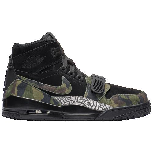 (取寄)ジョーダン メンズ レガシー 312 Jordan Men's Legacy 312 Black Camo Green Volt