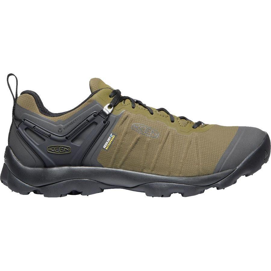 (取寄)キーン メンズ ベンチャー ハイキングシューズ KEEN Men's Venture Hiking Shoe Dark Olive/Raven