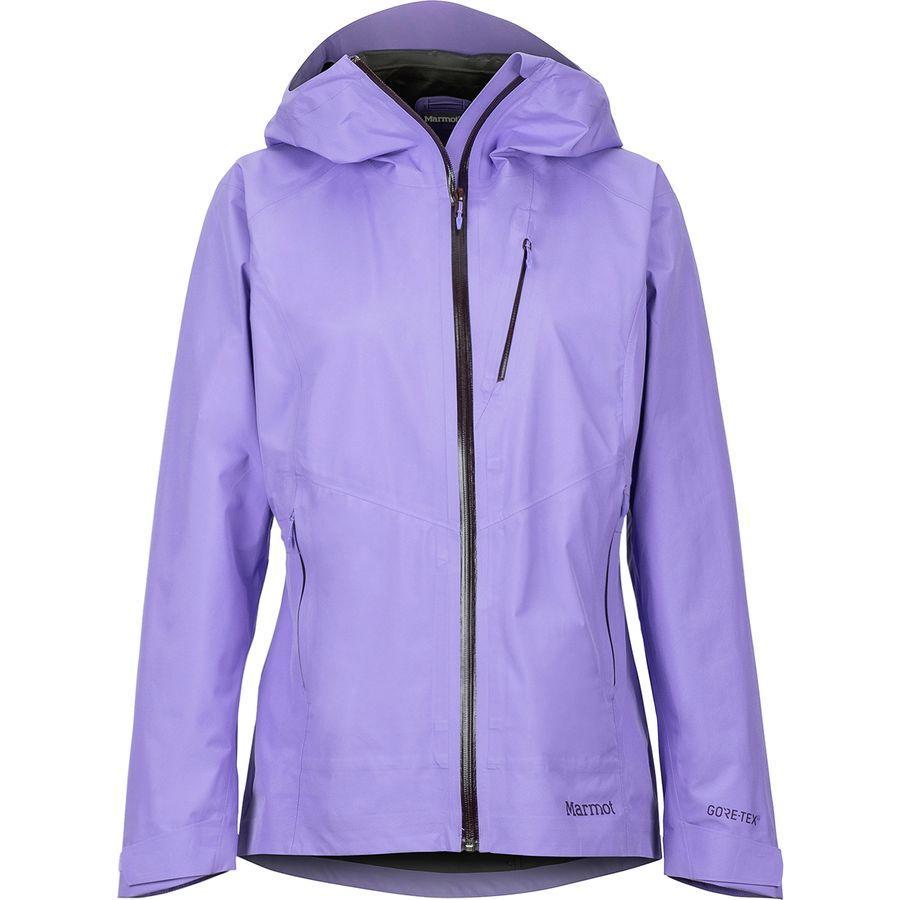 (取寄)マーモット レディース ナイフ エッジ ジャケット Marmot Women Knife Edge Jacket Paisley Purple