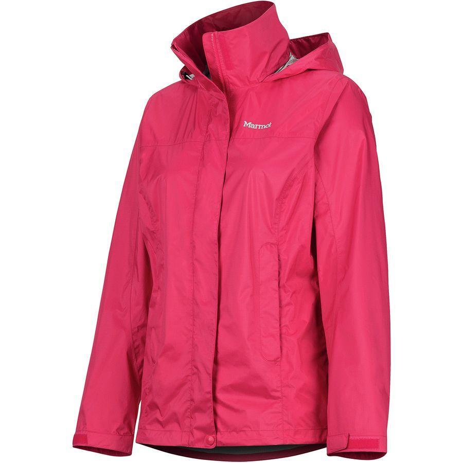 (取寄)マーモット レディース PreCip エコ ジャケット Marmot Women PreCip Eco Jacket Disco Pink