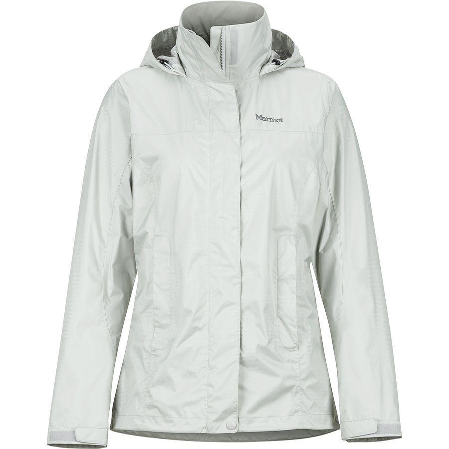 (取寄)マーモット レディース PreCip エコ ジャケット Marmot Women PreCip Eco Jacket Platinum