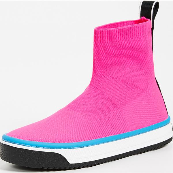 (取寄)マークジェイコブス レディース ダーツ ソック スニーカー Marc Jacobs Women's Dart Sock Sneakers Pink