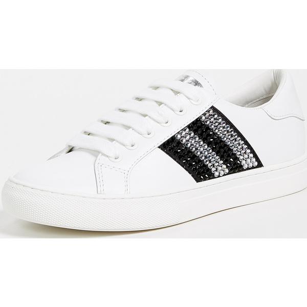 (取寄)マークジェイコブス レディース エンパイア ストラス ロウ トップ スニーカー Marc Jacobs Women's Empire Strass Low Top Sneakers White BlackMulti
