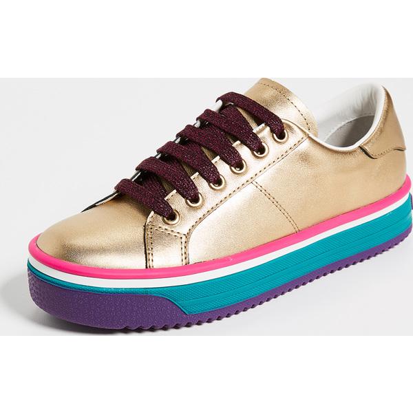 (取寄)マークジェイコブス レディース エンパイア マルチ カラー ソーレ スニーカー Marc Jacobs Women's Empire Multi Color Sole Sneakers GoldMulti