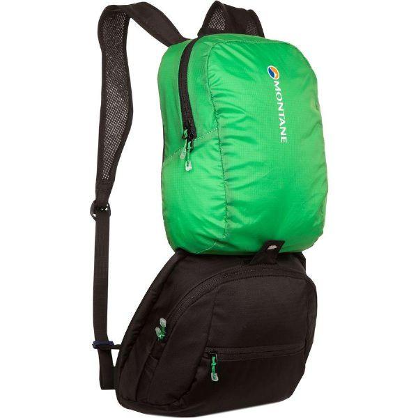 (取寄)モンテイン ユニセックス サミット ツアー 50+15L バックパック Montane Men's Summit Tour 50+15L Backpack Black/Rocket Green