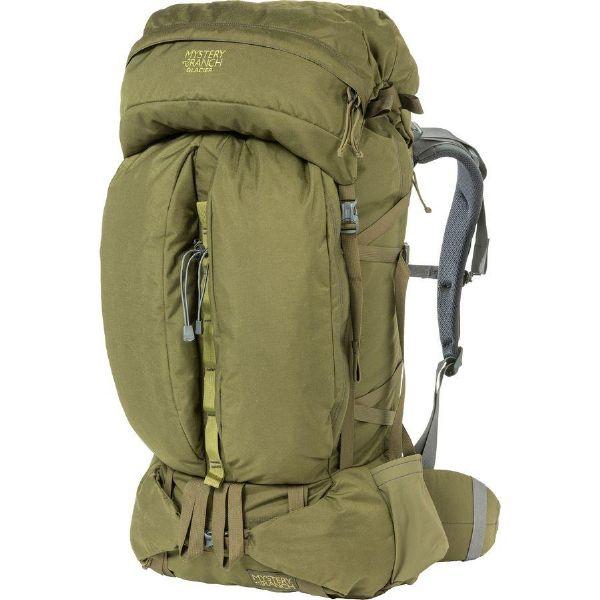 (取寄)ミステリーランチ ユニセックス グレイシャー 70L バックパック Mystery Ranch Men's Glacier 70L Backpack Olive