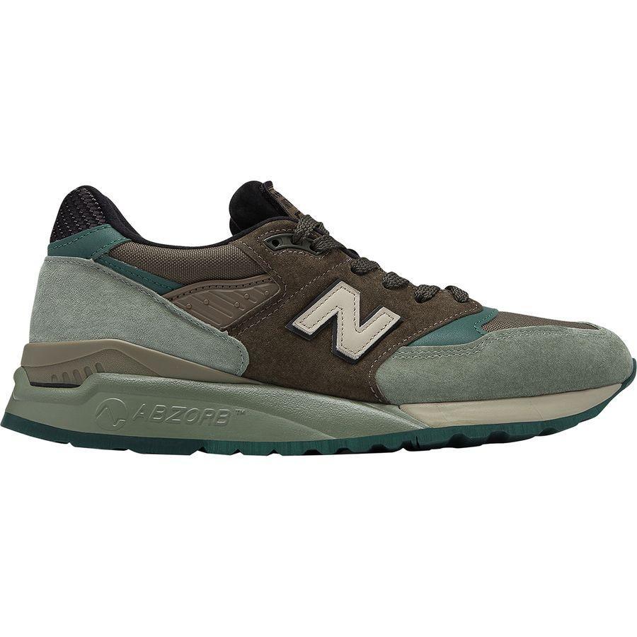 (取寄)ニューバランス メンズ 998 シューズ New Balance Men's 998 Shoe Green/Grey